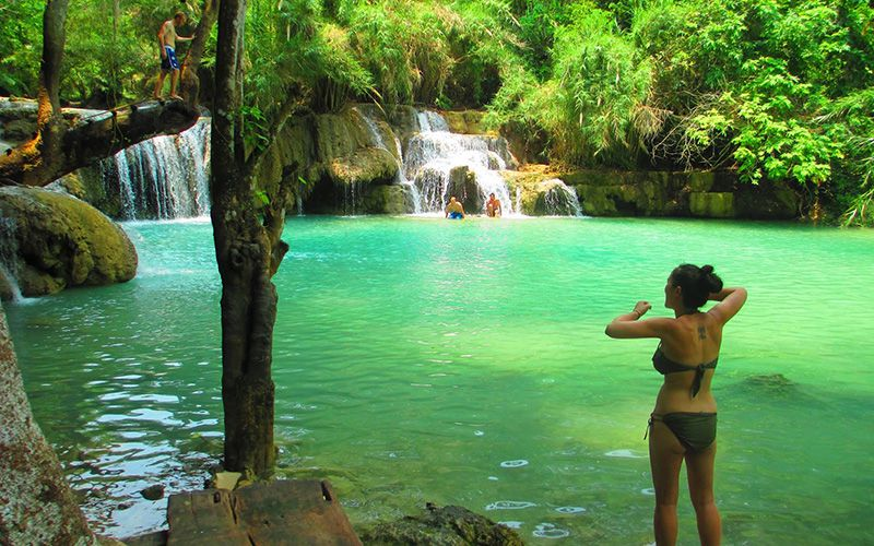 Khouangsi Waterfall (1)
