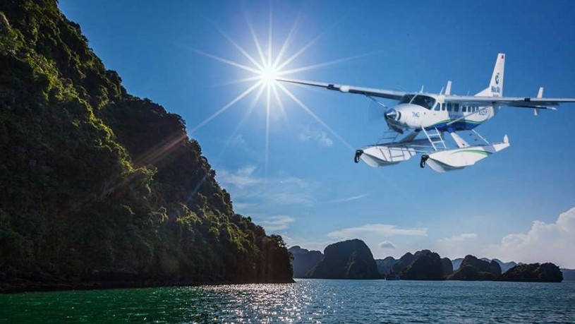 New Hanoi, Halong bay, Sapa helicopter tour