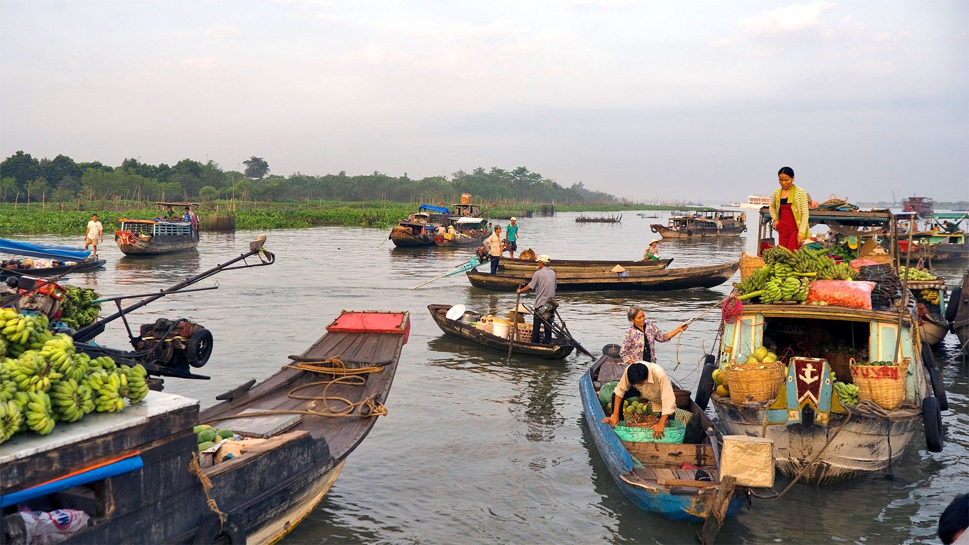 Mekong Delta – Land Of Rivers, mekong delta cruises, travel with Green Discovery Indochina