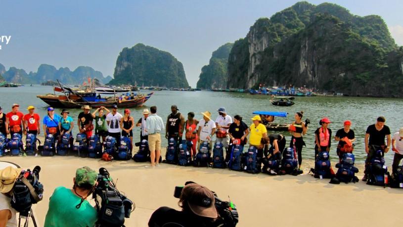 The Asia Express - Season 2015 was organized in Vietnam